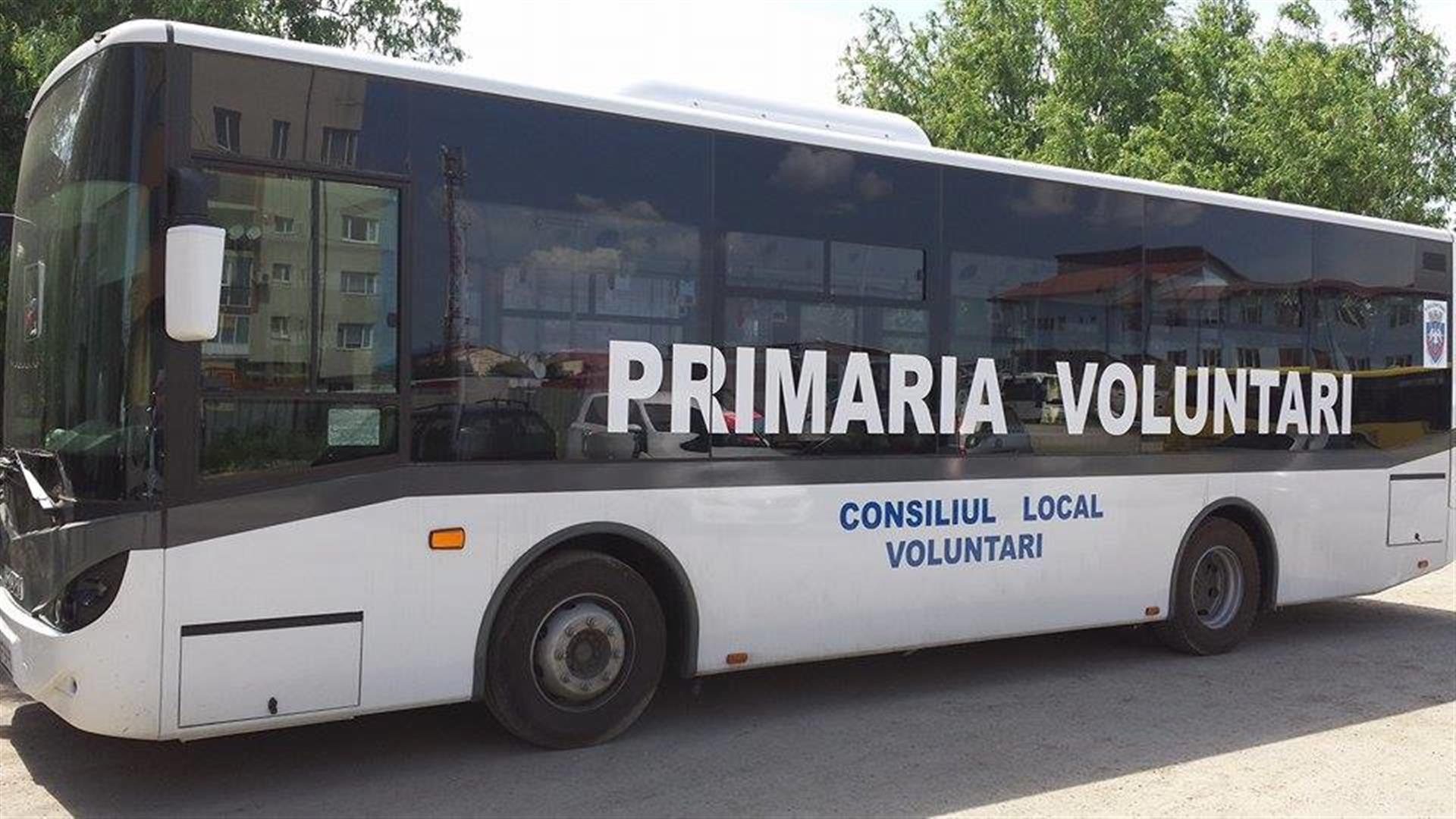 Isuzu - Inchiriere autobuze - Serviciul Transport Voluntari