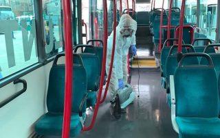 Decontaminare autobuze STV